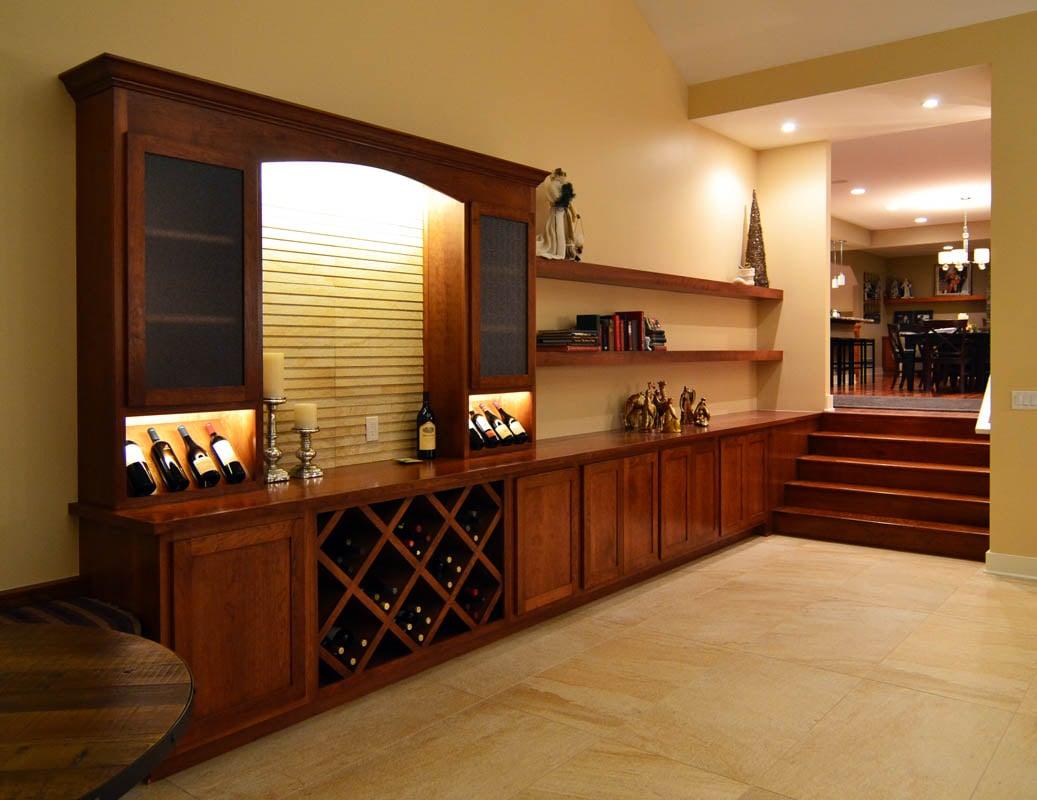 Kaufman Construction West Des Moines Addition Wine Bar
