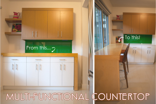 MULTI-FUNCTIONAL COUNTERTOP