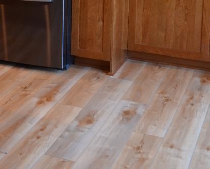 LVP Flooring Clive Kitchen Remodel